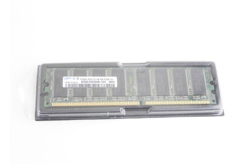 Оперативная память 1 ГБ 1 шт. Samsung DDR 333 DIMM 1Gb (M368L2923BTN-CB3)