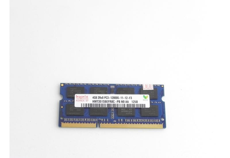 Оперативная память 4 ГБ 1 шт. Hynix DDR3 1600 SO-DIMM 4Gb