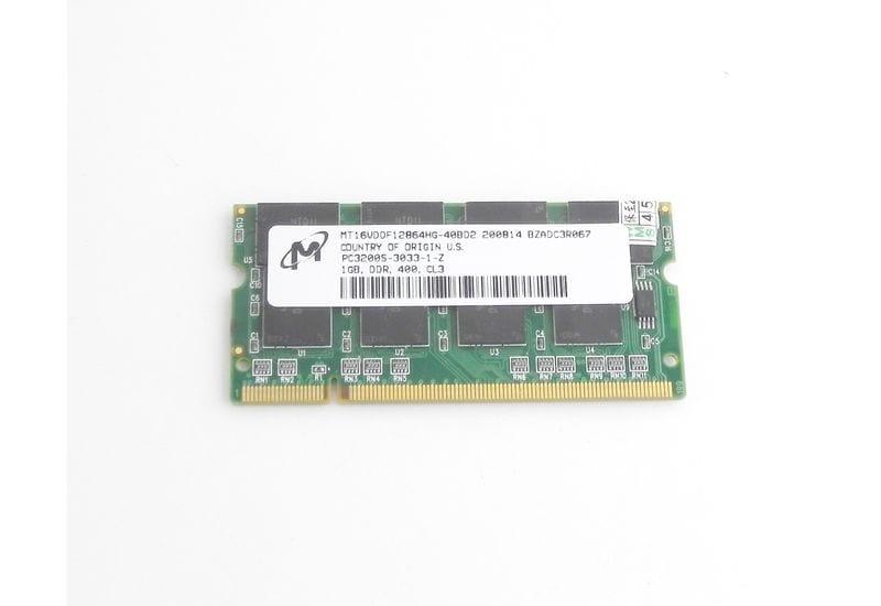 Оперативная память Micron 1GB PC-3200S   DDR400 SO-DIMM