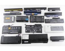 АКБ  аккумуляторы для ноутбуков в ассортименте Б/У  Li-Ion 18650