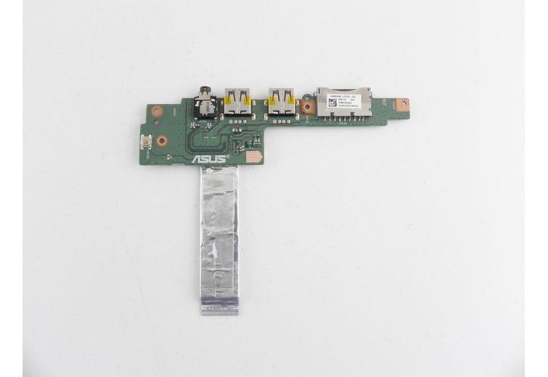 """Asus K501L K501LB-DM121H 15.6"""" Плата разъемов USB / Audio / SD 60NB08Q0-IO1030-200"""