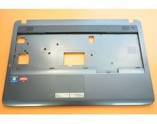 Верхняя часть корпуса (палмрест) для Samsung NP R530 R528 R525 темная глянцевая