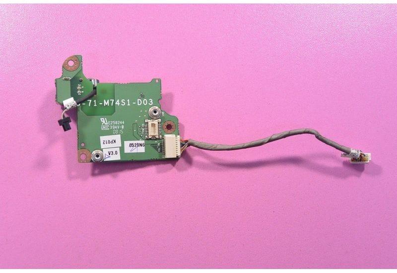 DEPO VIP M8510 Clevo W76T W760T M760S Logiq M76T Ethernet Port Плата & Cable =