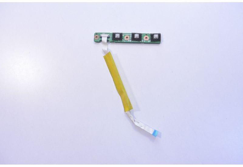 LOGIQ CLEVO HUNDY M66SRU Media Button Плата с кабелем 6-71-M66NS-D11 R2