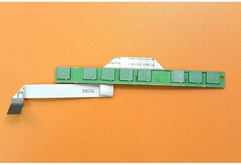 Dell XPS M1530 плата индикации и кнопок мультимедиа с кабелем 50.4W112.101