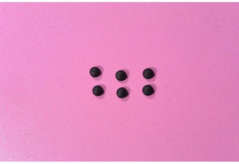 DEPO VIP M8510 Clevo D900 M760 M66N M66SU Резиновые заглушки рамки матрицы 6 штук (+B1)