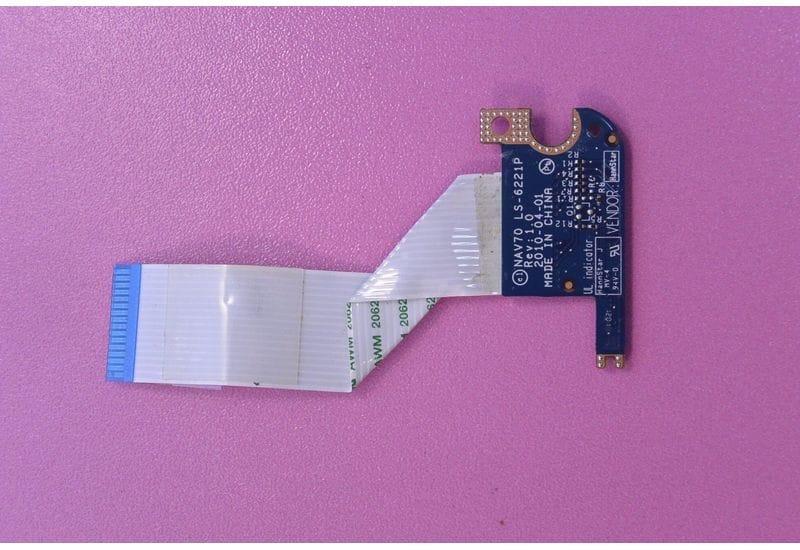 ACER ASPIRE ONE D260 NAV70 D255 D255E плата индикаторов со шлейфом LS-6221P