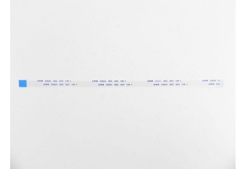Шлейф плоский FFC/FPC-кабеля Flexible flat 6 пин, шаг 1,00мм, длина 200мм, обратный
