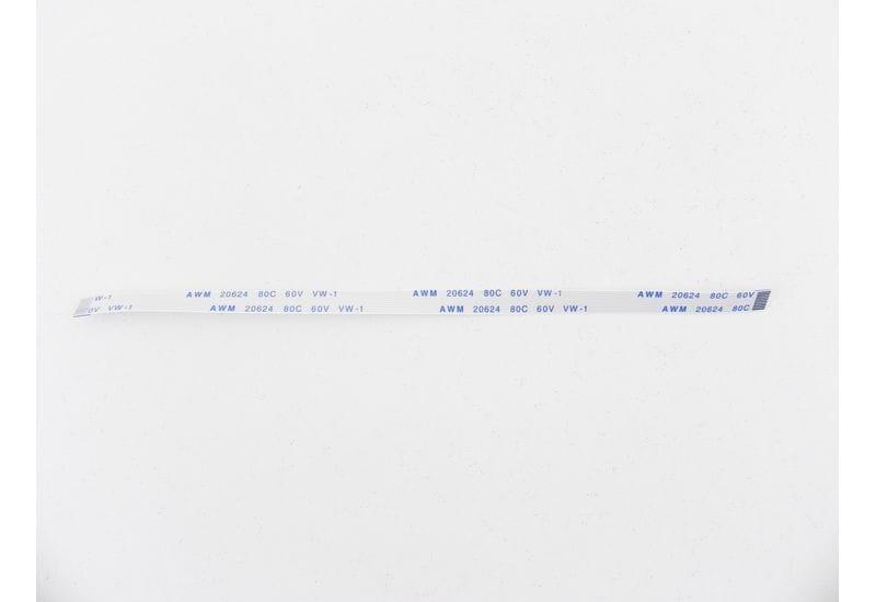 Шлейф плоский FFC/FPC-кабеля Flexible flat 10 пин, шаг 0,5мм, длина 150мм, прямой