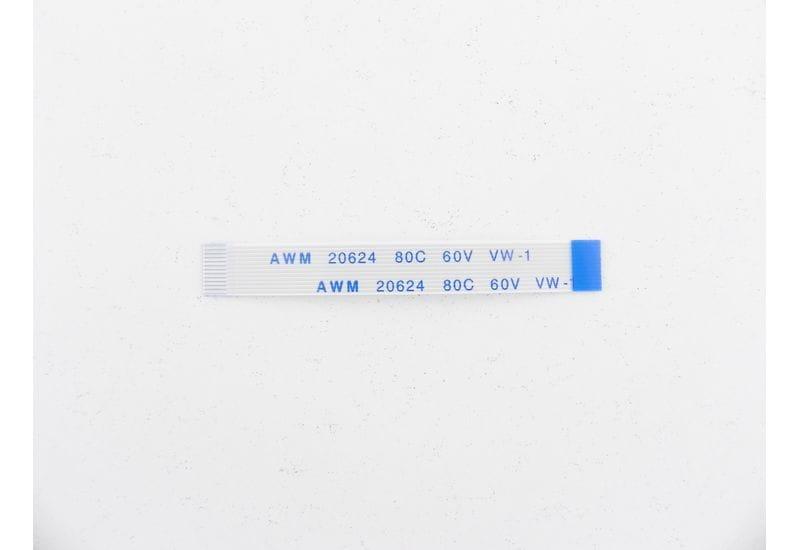 Шлейф плоский FFC/FPC-кабеля Flexible flat 12 пин, шаг 0,5мм, длина 50мм, обратный