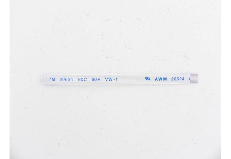Шлейф плоский FFC/FPC-кабеля Flexible flat 8 пин, шаг 0,5мм, длина 70мм, прямой