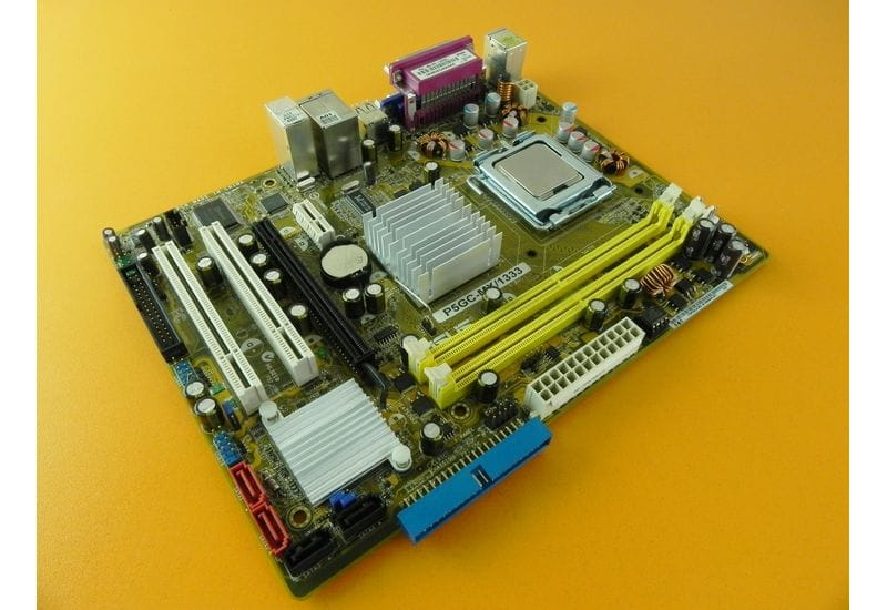 Комплект s775 материнская плата Asus P5GC-MX/1333 + Intel Pentium Dual-Core E5400 Рабочий
