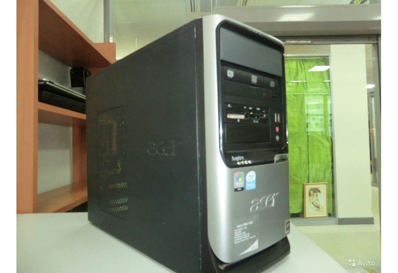 Системный блок Acer 2 ядра 2Gb 8600GT рабочий