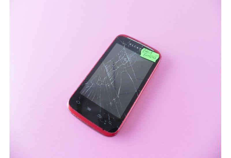 Смартфон Alcatel OneTouch 983 (неисправный)