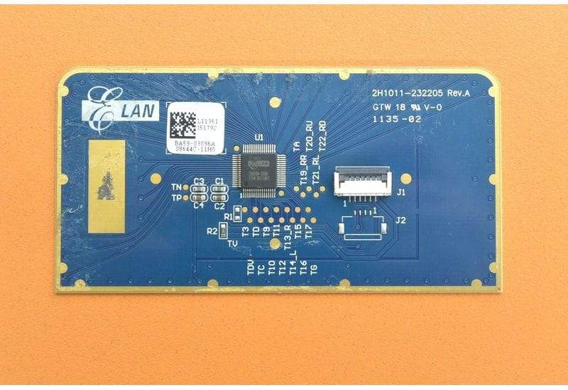 SAMSUNG NP300E4A 300E плата тачпада BA59-03096A