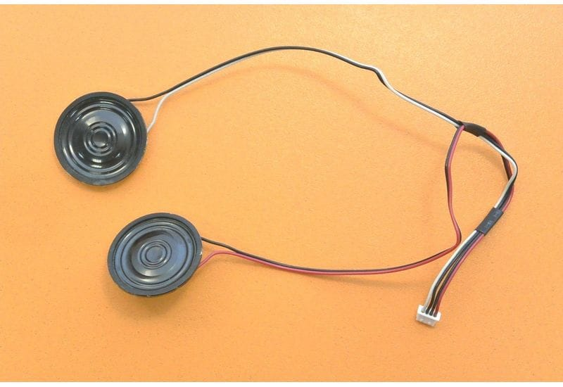 CLEVO PRESTIGIO 2700T Динамики левый и правый, комплект с кабелем